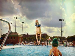 Banneker Pool, Washington, D.C., 2016