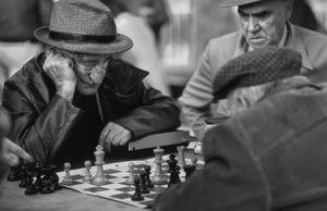 Chess Players, MacArthur Park