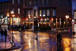 Quebec Night Rain #2