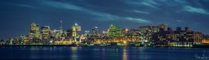 City of Montreal by night