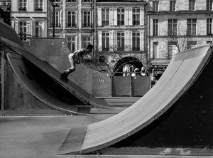 skatepark en géométrie