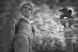 Hercules and the Lion of St. Mark