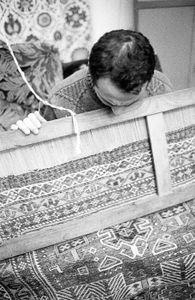 work on carpets
