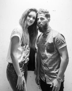 Daniela and Carlos - stylist and artist