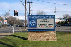 God Has A Big Eraser, Columbus, Ohio, 2003