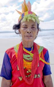 Traditional Mentawai dress