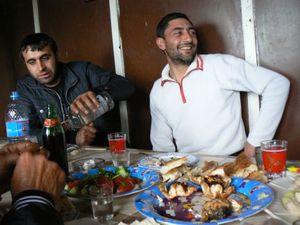 Photographic portrait of humans in Sevan, Armenia