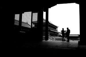 Silhouettes of Beijing