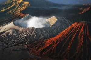 Active volcano Bromo