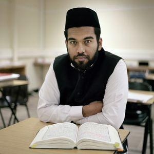 Adeel Tayyab, Young training Imam, England, UK.