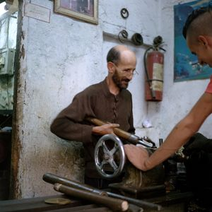 Pipes maker, Fès, Morocco
