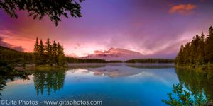 Sunrise from Two Jack Lake