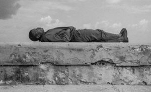 Sleeper, Havanna, Cuba, Kuba January 1996,