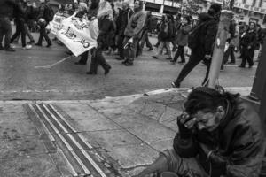 anti austerity demonstration, Athens, 2016