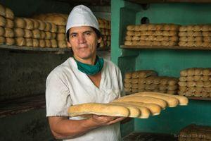 Baker in Baracoa.