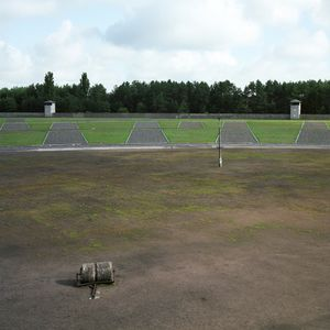 Roll Call Area, Sachsenhausen Memorial and Museum