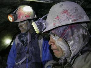 Silver Miners, Cerro de Potosi, Bolivia