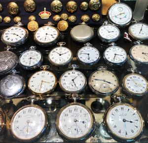 Antique Watches in a Cairo Market