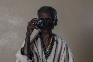 The World of Sight. Portrait of ZENEBECH WOLDU. From the project: Camera. Blind. Project. ©Ivo+Ana