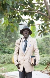 Pastor Seburikoko Alberta on the DRC/Uganda border