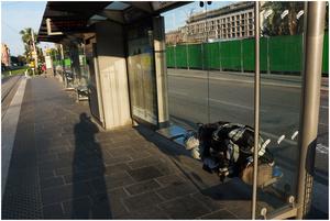 Street Photography - Sleeping Series 06 (France, Nice)