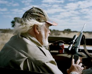 untitled hunter, kalahari, northen cape, south africa-from the series 'hunters'-David Chancellor