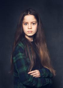 Imogen aged 11.