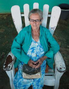 Elderly Lady Holding Her Holy Bible, Viñales Cuba
