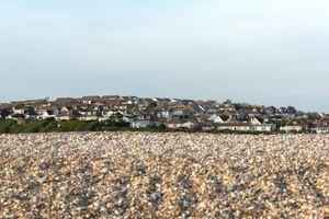Homes & beach, Seaford