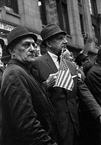 Flag Men, NYC, 1967