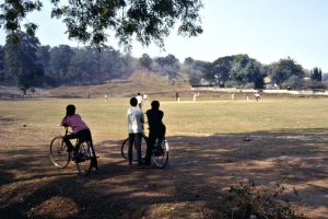 Cricket, Nagpur, India, 1990