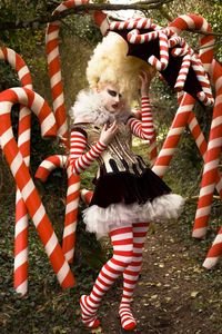 'The Vanity of the Candy Cane Witch'
