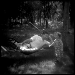 Mack and Mike in the Backyard on Walling Rd., Warwick, NY