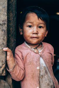 Hmong little boy