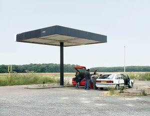 """Station #26, from """"Twentysix Abandoned Gasoline Stations"""" © Eric Tabuchi"""