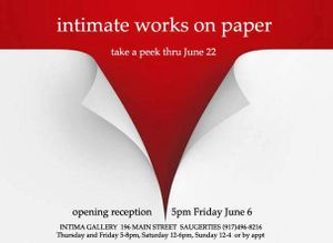 Intimate Works on Paper
