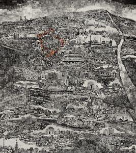 Diorama Map Delhi © Sohei Nishino/Courtesy of Michael Hoppen Contemporary
