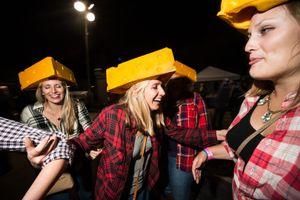 Cheeseheads, Leavenworth WA, October 2014