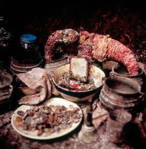 Secret shrine of the Bongman devil.