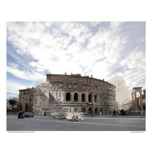 Teatro di Marcello [Vedute di Roma] circa 1778 / 2016