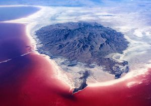 'Red Pain,Urmia Lake'