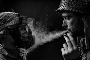 No smoking please, smoking harms your health