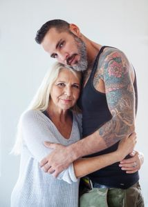 """""""You are my man but also my son""""... Anna Langer and Jonathan Agassi, Tel Aviv 2018"""