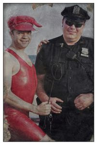 English Guy With Police Officer
