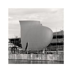 """© Sylvain Deleu (Great Britain) Gdansk Shipyard """"Hull in Construction"""". Honorable Mention, LensCulture Exposure Awards 2009"""