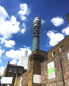 The Telecom Tower From The Street