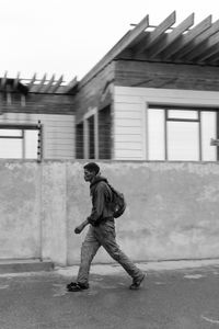 On The Move - Man walking