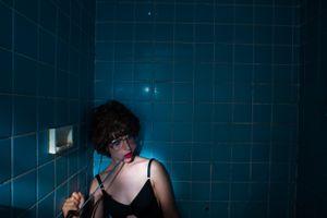 Antenna Interruption, (Self-portrait)