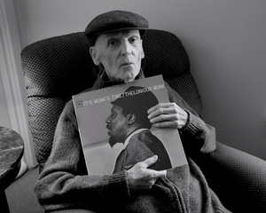 """""""The Jazz Man"""" (From the series entitled, """"The Last Picture Show"""" documenting the last year of my father's life as he suffered from progressive dementia.)"""