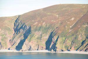 Contisbury Hill relay transmitter, North Devon Coast